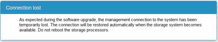 domalab.com Upgrade Dell EMC Unity connection lost