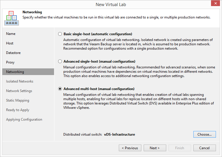 domalab.com Veeam Datalabs virtual lab advanced proxy