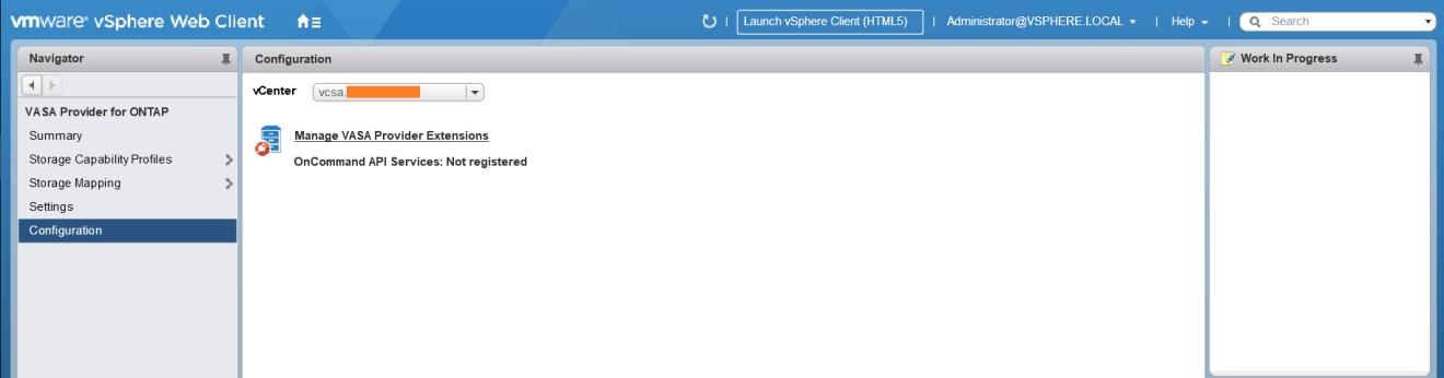 domalab.com Install NetApp VSC VASA Provider Extension