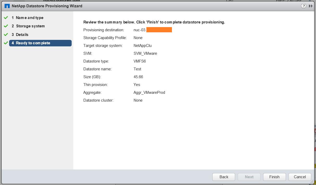 domalab.com Install NetApp VSC storage provisioning review