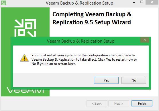 domalab.com Veeam Update 4 install reboot