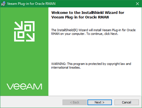 Veeam RMAN backup plug-in for Oracle Databases » domalab