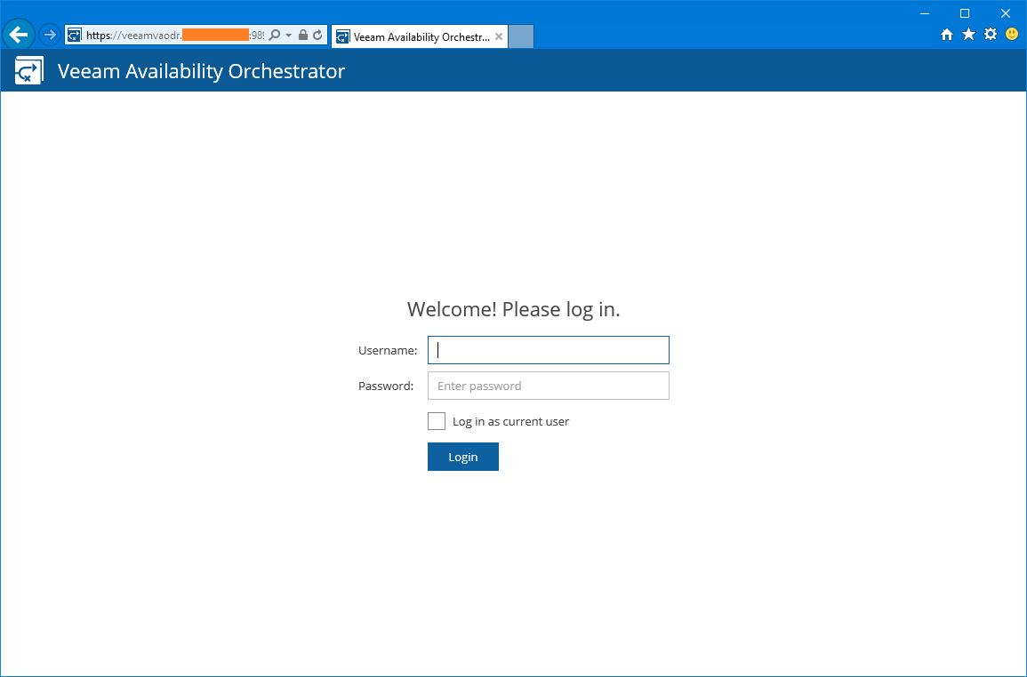 domalab.com Veeam VAO configuration
