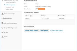 domalab.com Dell EMC Unity 4.5.1