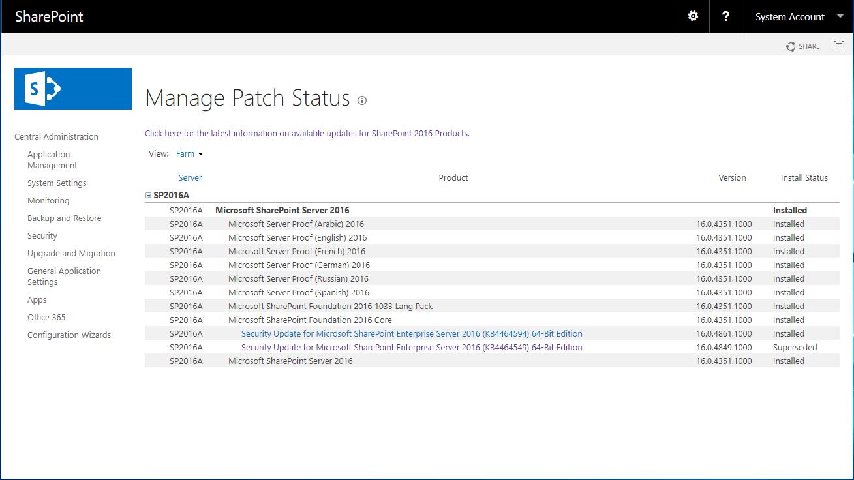 domalab.com SharePoint 2016 Update