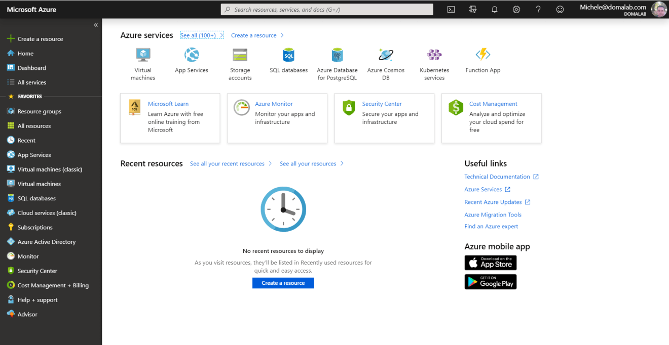 domalab.com Azure Storage Account