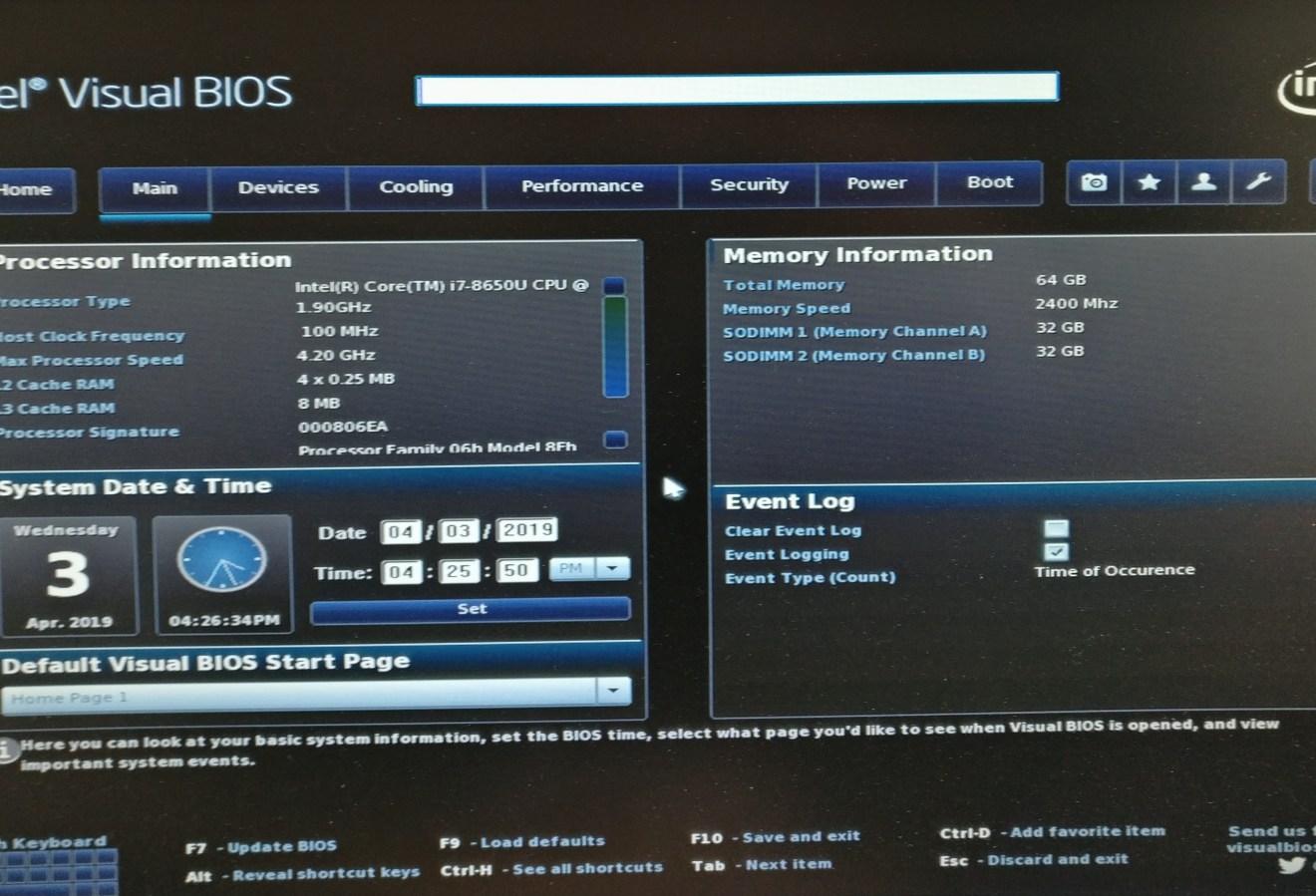 Intel Visual Bios Free Download