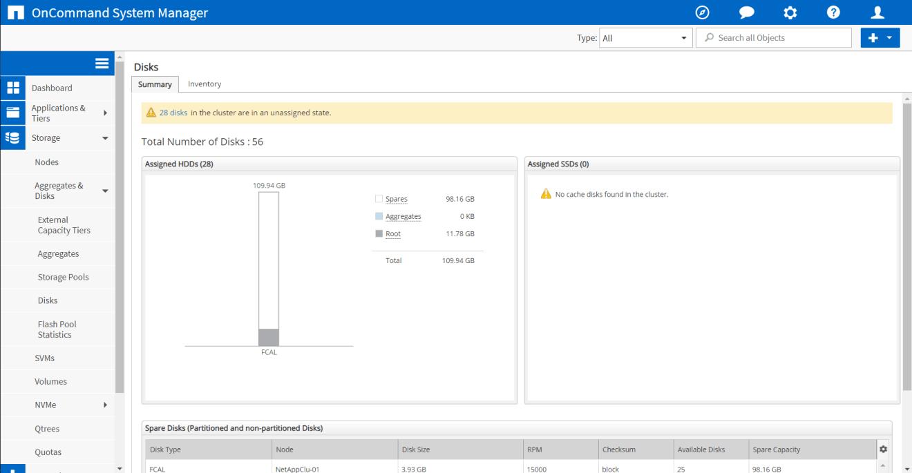 domalab.com NetApp ONTAP Disk Aggregates