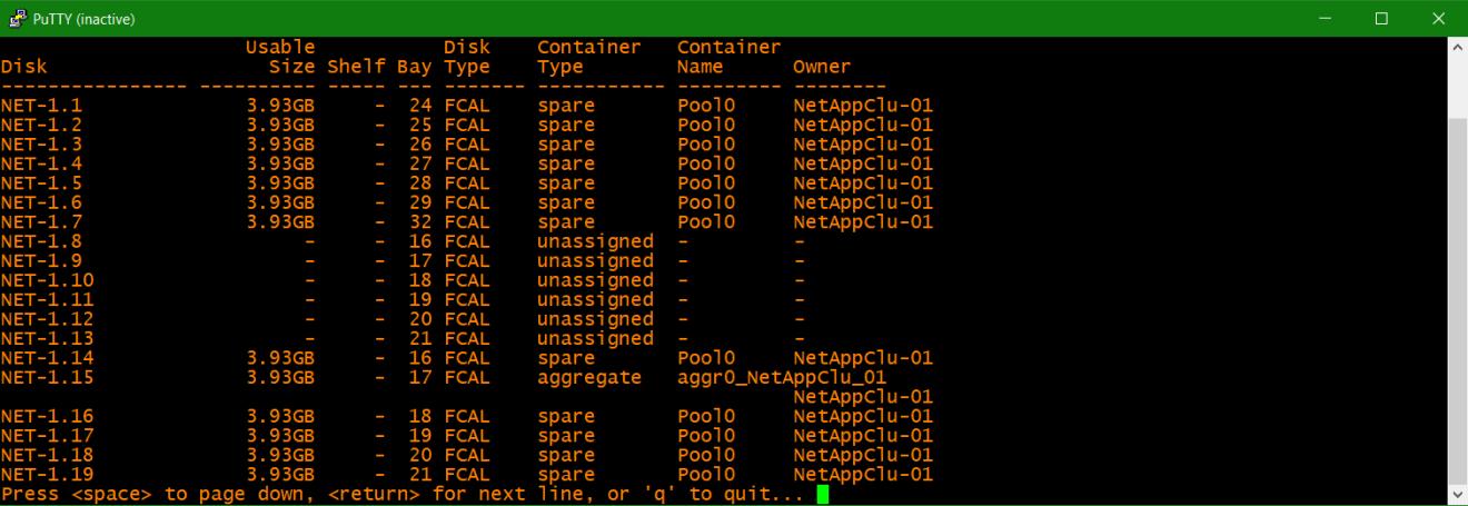 domalab.com NetApp ONTAP disk move