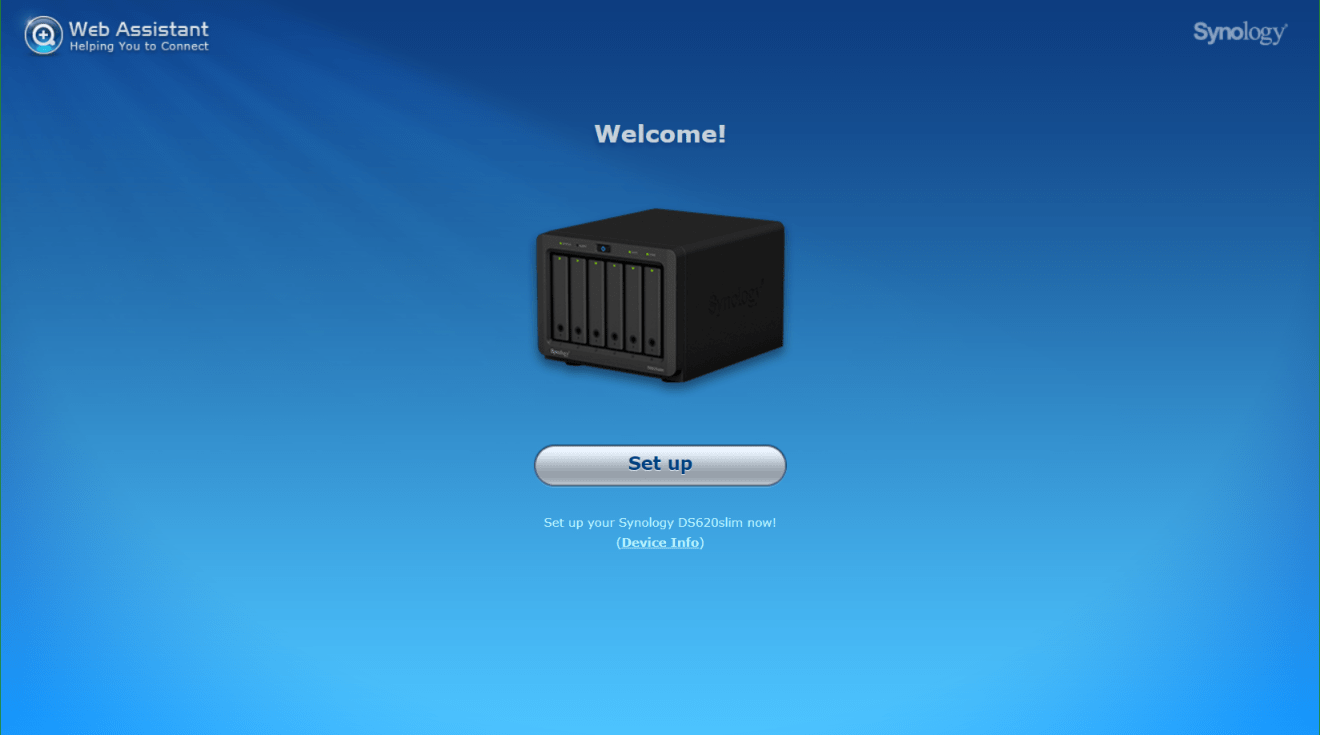 domalab.com Synology DS620Slim setup