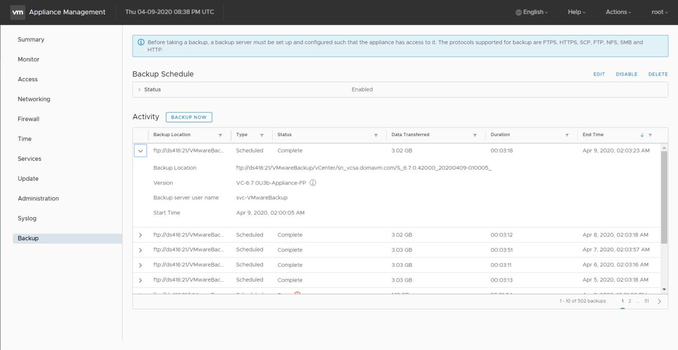 domalab.com VMware VCSA 67u3e