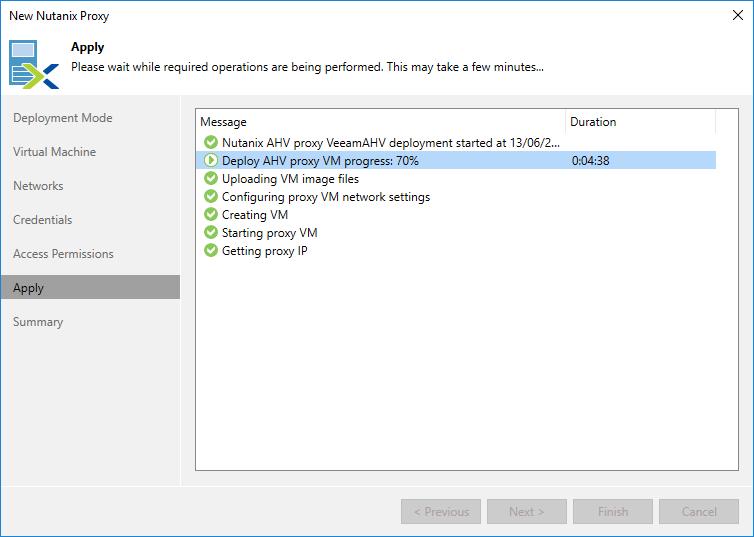 domalab.com Veeam Backup Nutanix Proxy