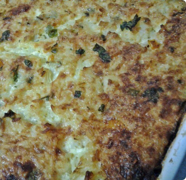 omelete de arroz