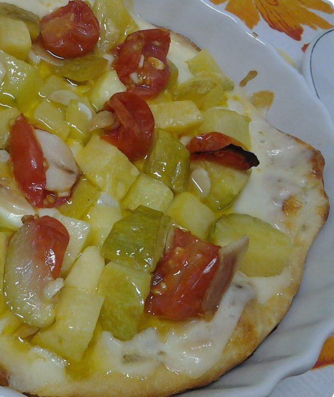 pizza sem crosta da nigella