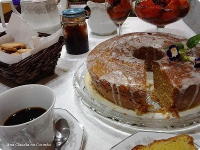 bolo de laranja fofinho e saboroso