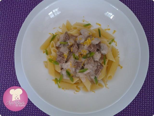 alcatra com molho de limão siciliano