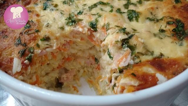 arroz de forno fácil