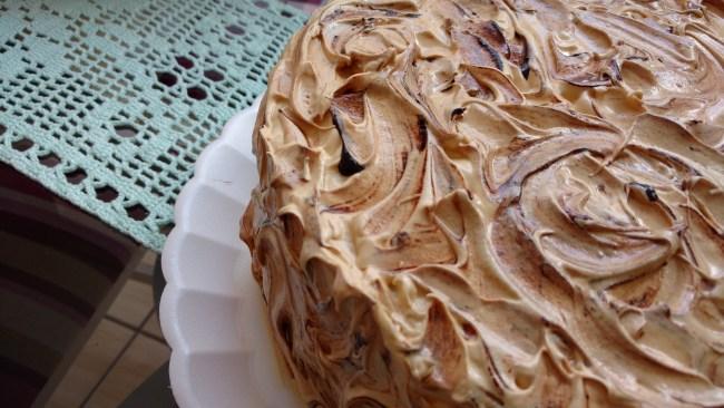 torta mesclada ou bolo mesclado