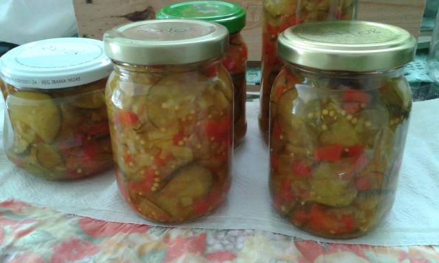 relish de pepino - fácil e agridoce