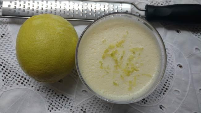 mousse de maria mole com limão