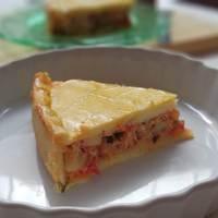 Torta de Frango (com creme de leite na massa)