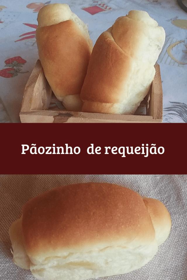 pãozinho de requeijão fofinho e macio
