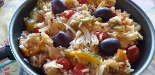 arroz cremoso com bacalhau