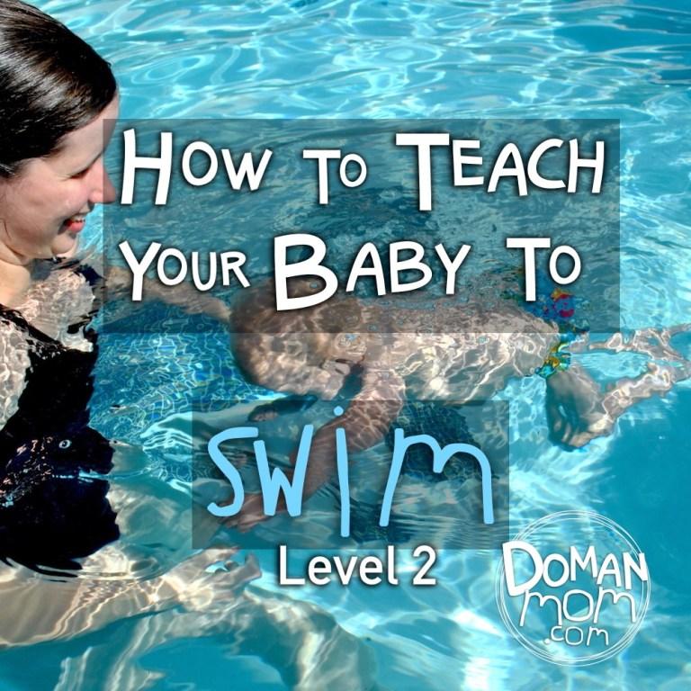 How to Teach Your Baby to Swim | DomanMom com