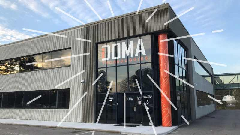 DOMA building with new upgrades