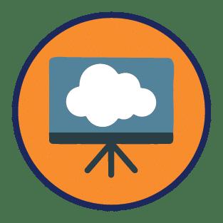 Icon representing the Digital Cloud