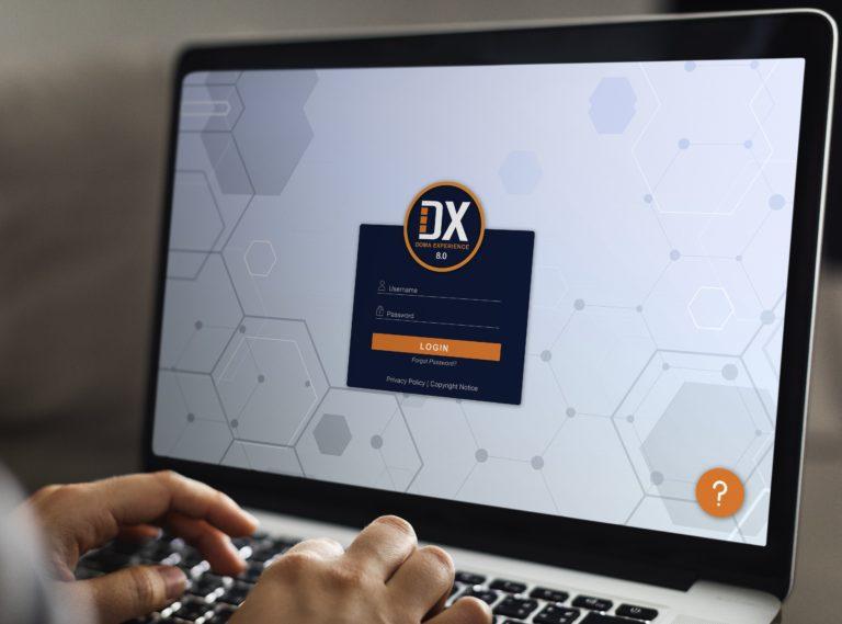 Computer Login DX Software