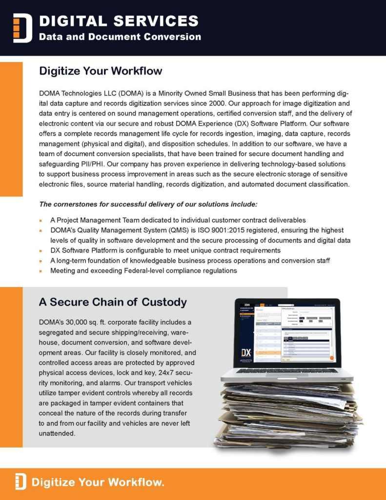 Digital Services Brief Page 2