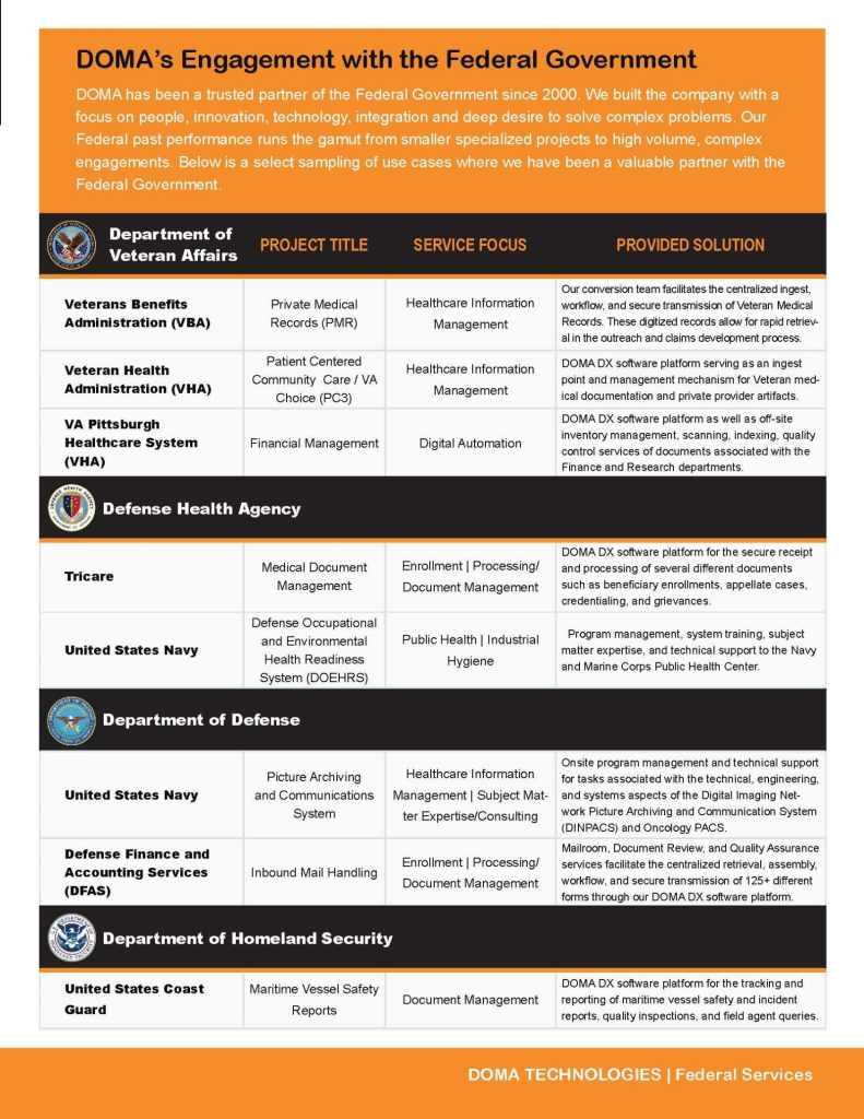 Federal Services Brief Page 3