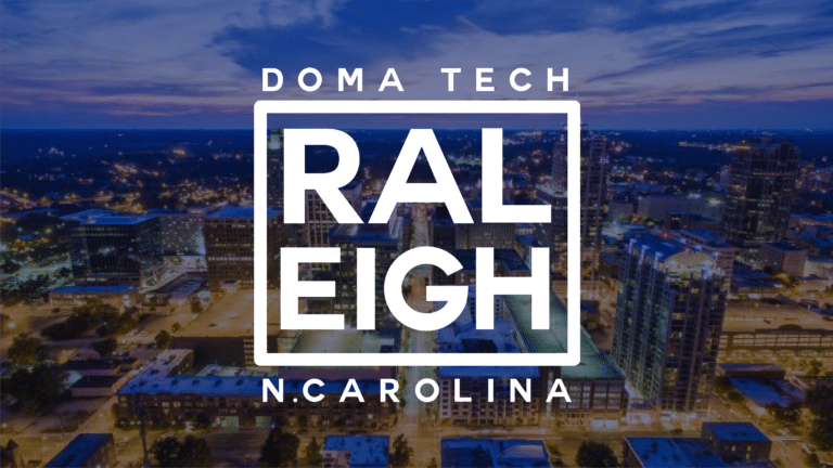 DOMA has arrived in Raleigh