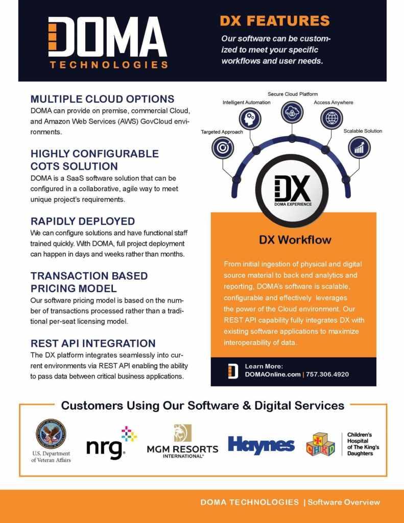 DX Software Brief Page 3