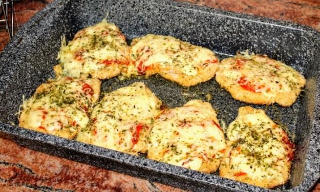 Хрупкави пилешки пържоли на фурна