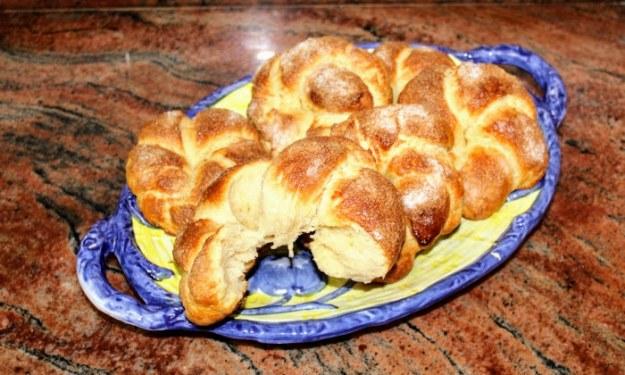 Закуски с козуначено тесто