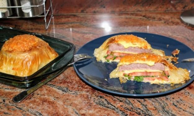 Чийзбургери с кори за баница на фурна, бърз обяд или вечеря
