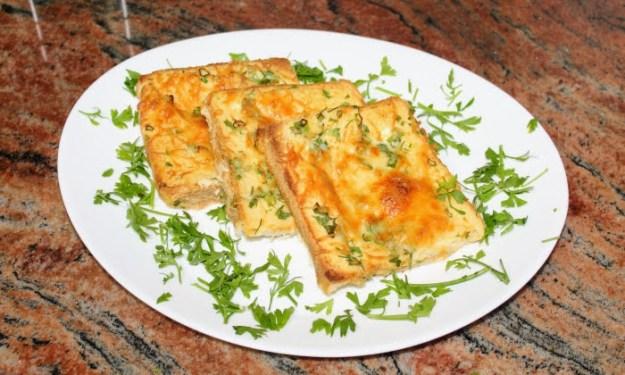 Бърза и лесна закуска със стар хляб