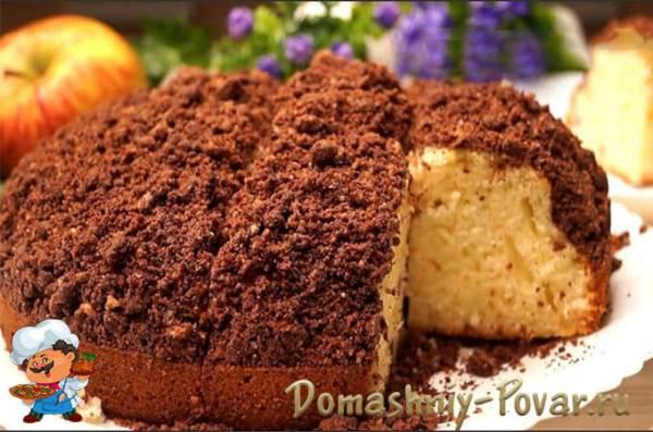 Кекс на кефире в духовке пошаговый рецепт с фото