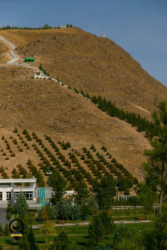 Wzgórze Kopet Dag i ścieżka zdrowia