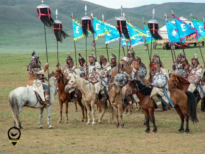Mongolska jazda Czyngis chana