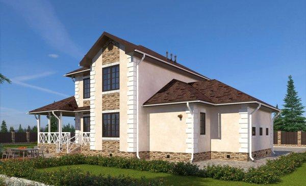 Калуга - Проекты домов с гаражом: цены и фото ...