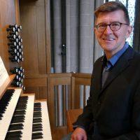Domorganist Peter Wagner, Minden