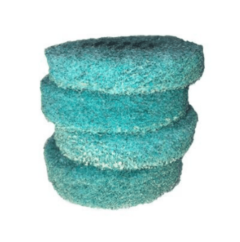 Poly Blue Concrete Polishing Pads - Full Set
