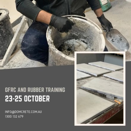 GFRC Rubber Training