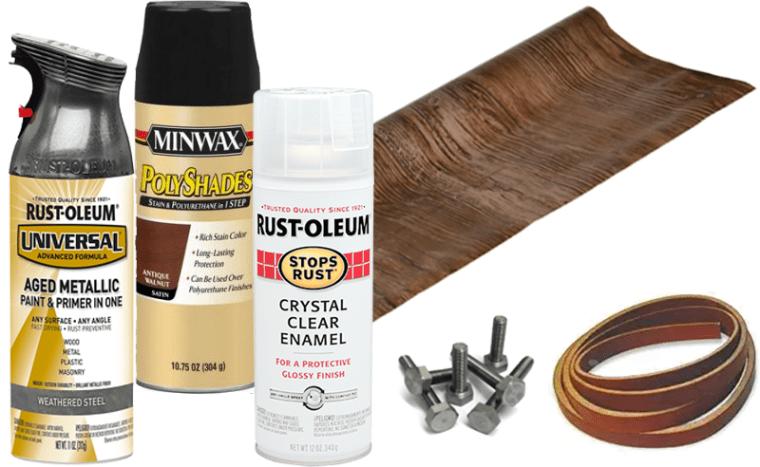 Dresser makeover materials