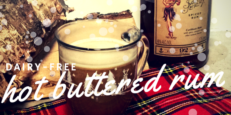 Dairy Free Hot Buttered Rum Batter