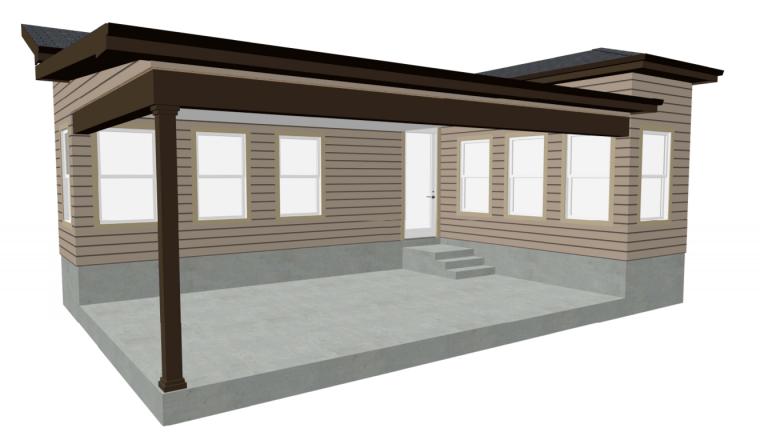 Original Patio Plan - Deck Building Lessons Learned