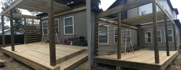 Day 3 - Building a Deck with a Contractor: Lessons Learned